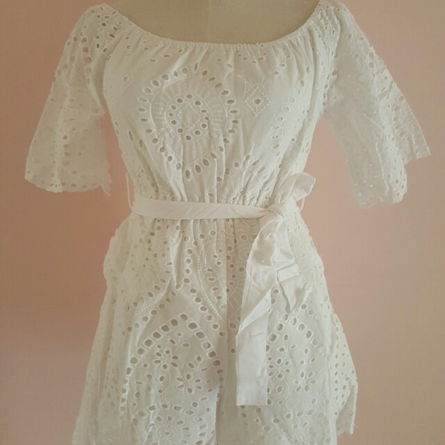 Playsuit size 8 brand new