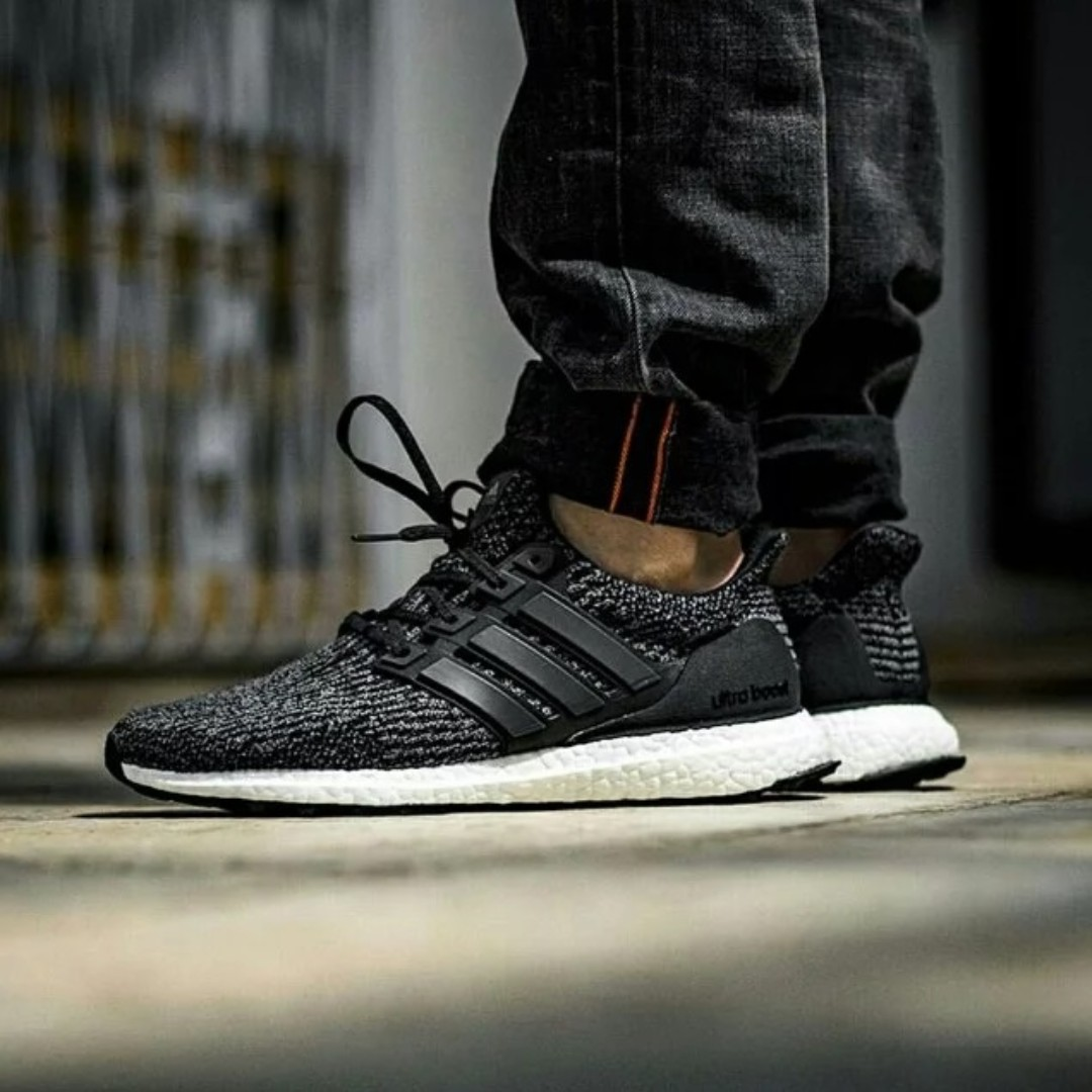 b4e0b9dd3d42d (PO) Adidas Mens Ultra Boost 3.0 Utility Black