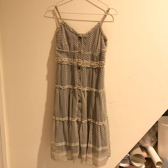 Polkadot Evening Dress
