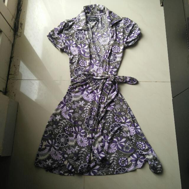 preloved dress model kimono bahan spandex made in spain size m