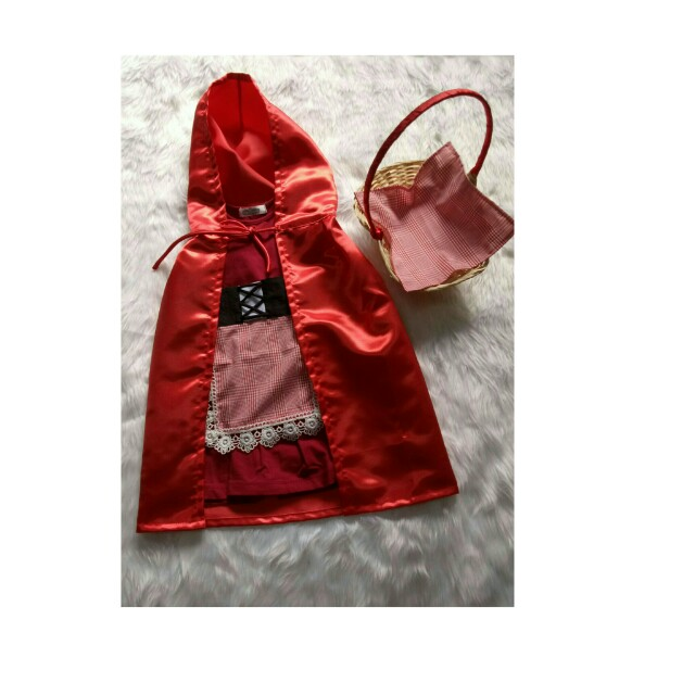 Preloved Red Riding Hood Costume