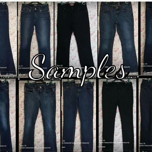 PREMIUM Ladies Denim Pants