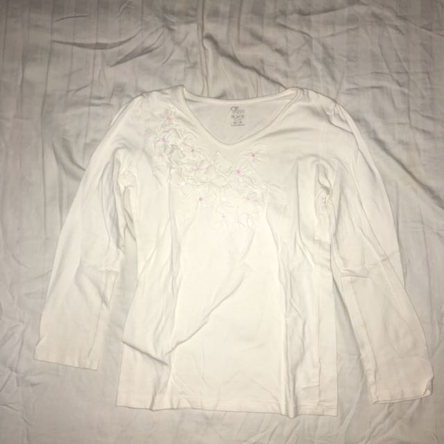 Pre-owned Children's Place L/S (off white)