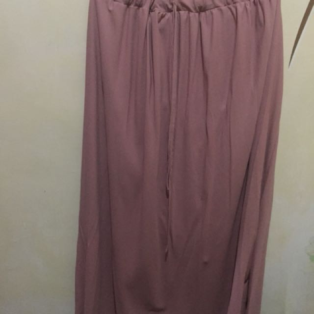 primadonna blush long skirt