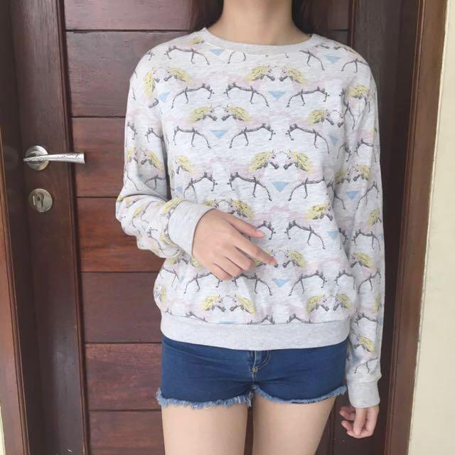 Pull & bear Sweater Unicorn