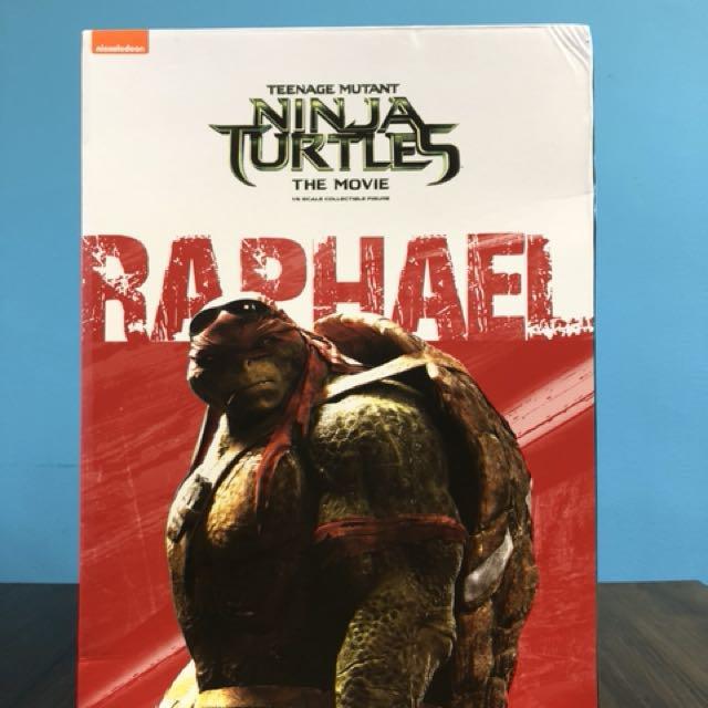 Raphael TNMT by Threezero RARE! BIB MINT!