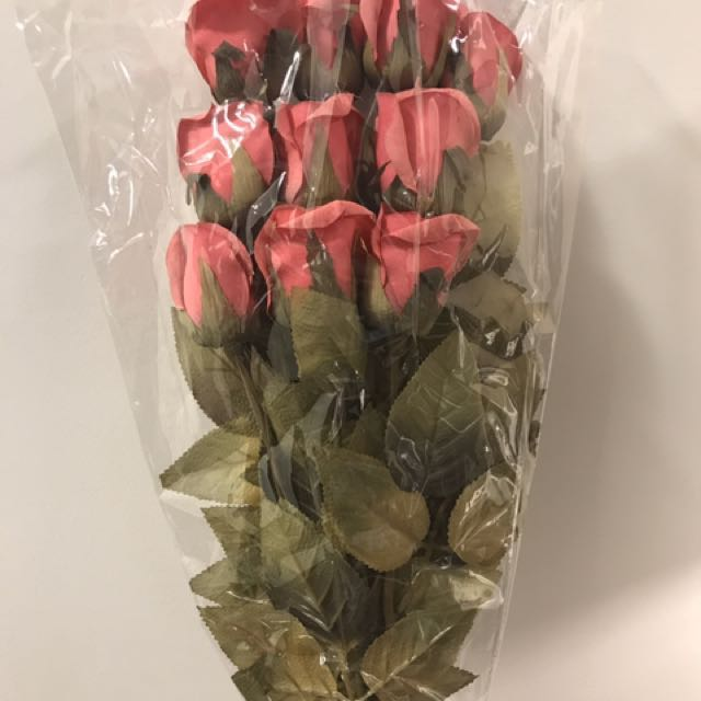 Reduced!Forever living artificial Rose ( 10pcs )