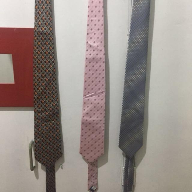 REPRICED necktie neck tie orig branded