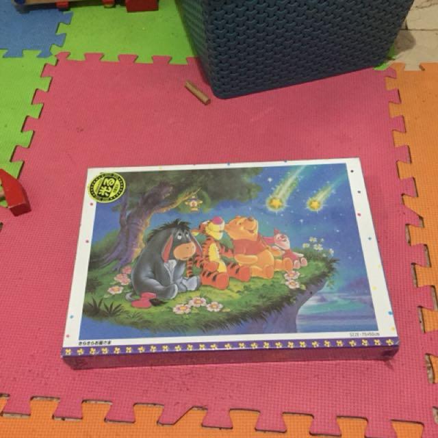 REPRICED puzzle 1000 pcs japan pooh
