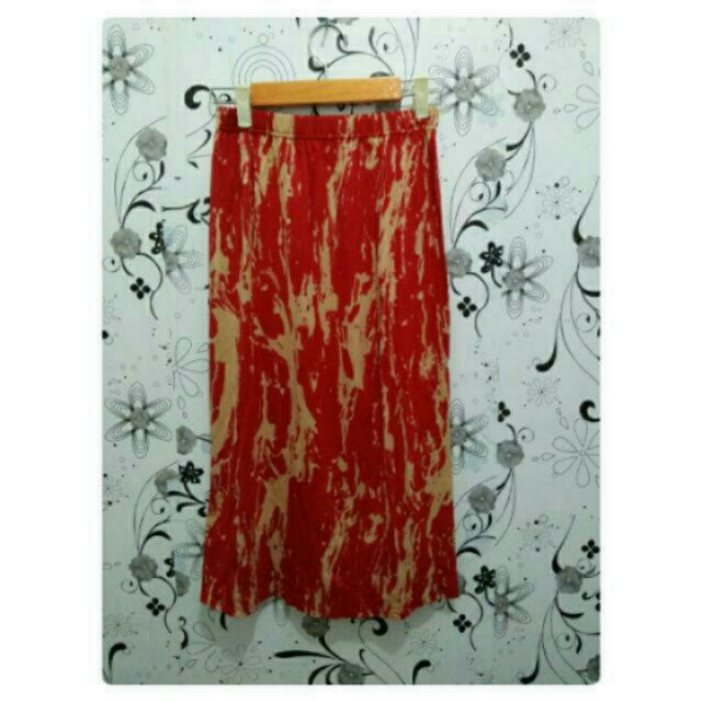 Rok Midi Skirt