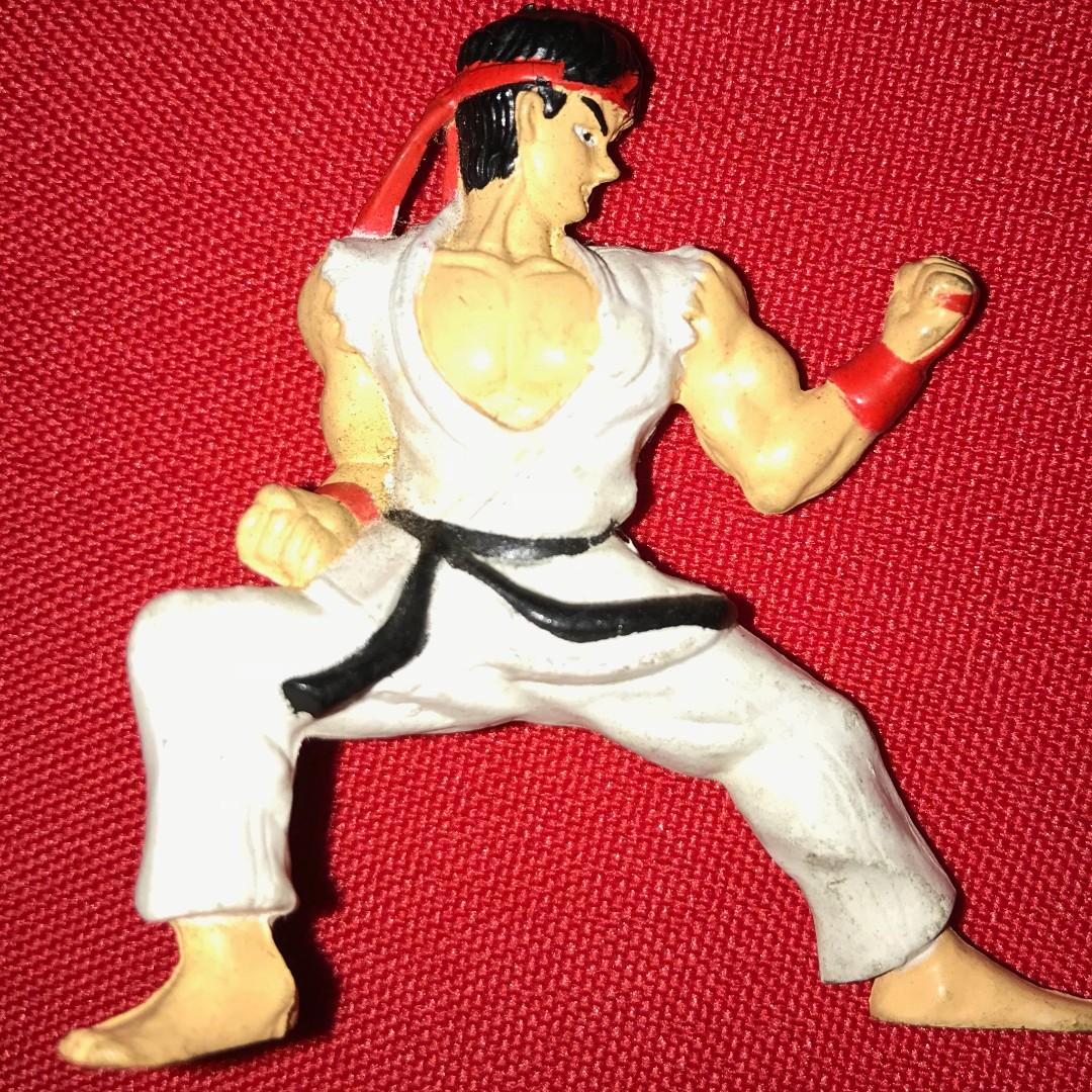 RYU - Charafull World - Final Warriors [Street Fighter II] RARE 1980s Japan