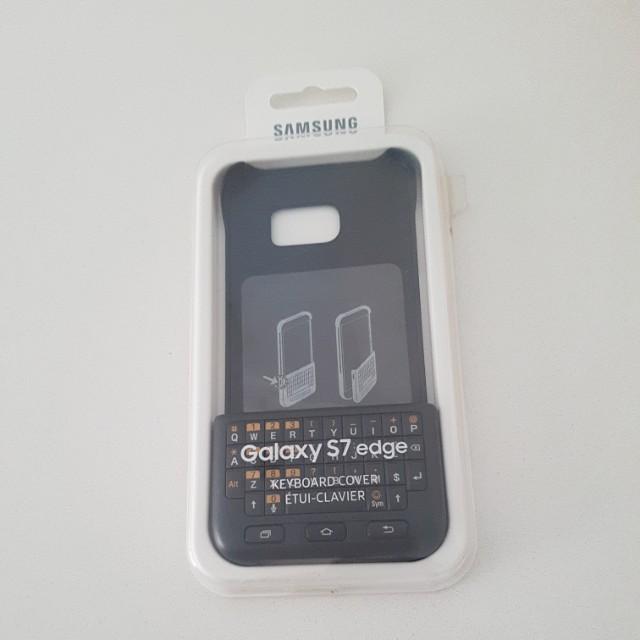 Samsung S7 edge keyboard cover