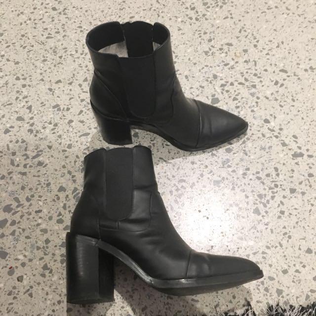 Senso Black Boots