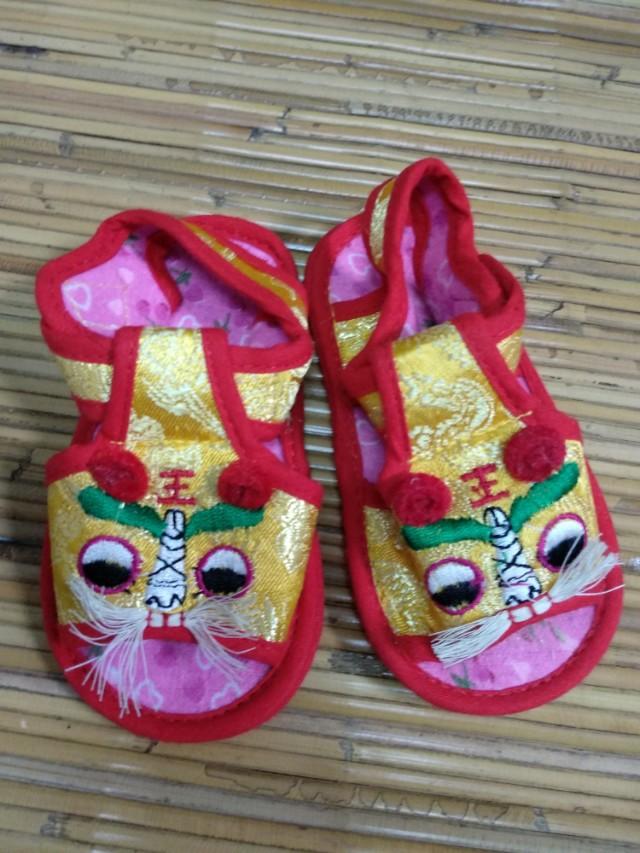 Sepatu Sendal Imlek Barongsai Sandal