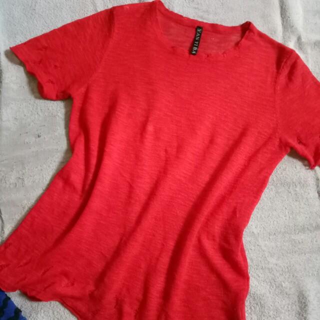 Red Sheer top