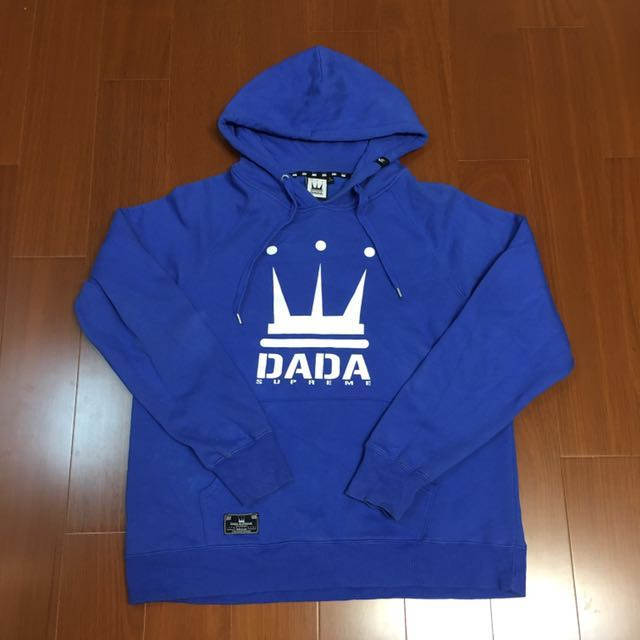 (Size L) Dada x supreme 藍色刷毛保暖帽t