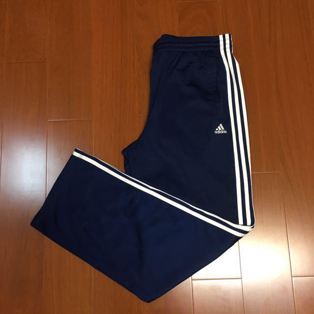 (size M) Adidas climalite 海軍藍色保暖運動褲