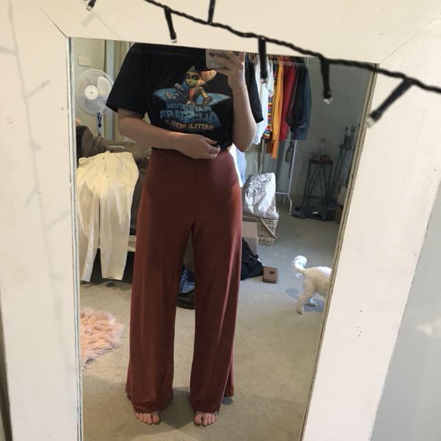 slinky pants