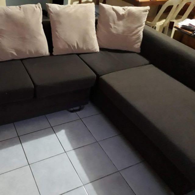 SM OUR HOME L shaped sofa