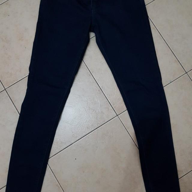 SM Woman Dark Blue Skinny Jeans