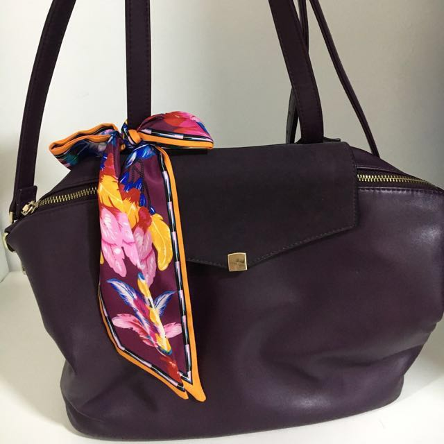 e2564a6cbc Sometime by Asian Designer (Basta Bag Plum) RM140