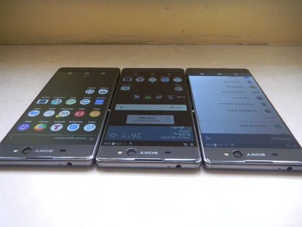 "Sony XA Ultra 6"" Bezelless_16Mp OIS Selfie_3Gb RAM"