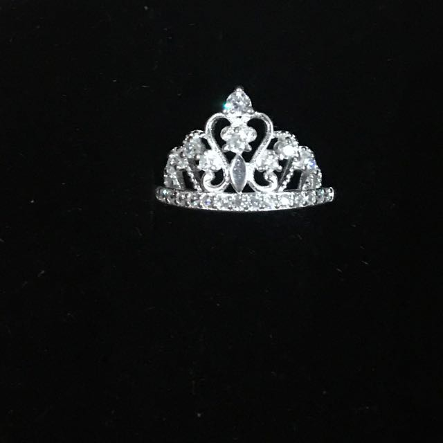 Sterling silver princess crown 2
