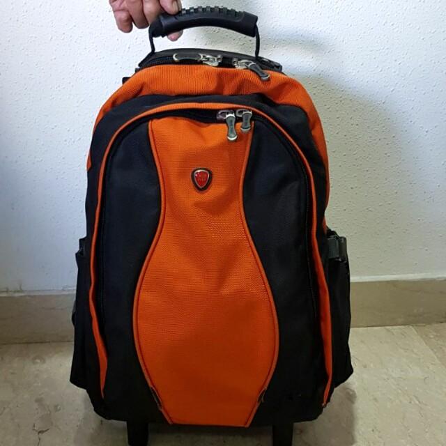 b515c0ee261f Swiss Polo School Bag with trolley