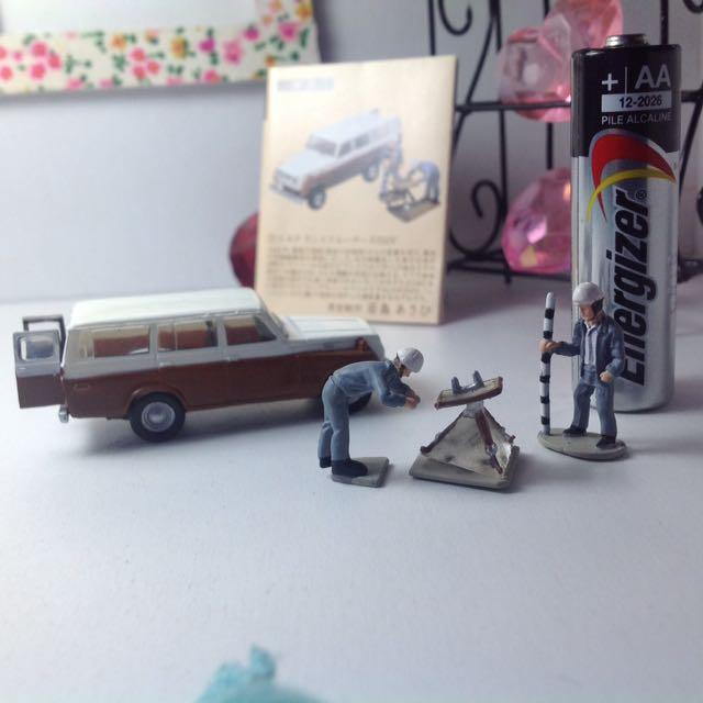 Takara Miniature Set 1