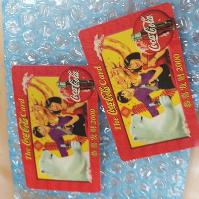 The Cocacola card