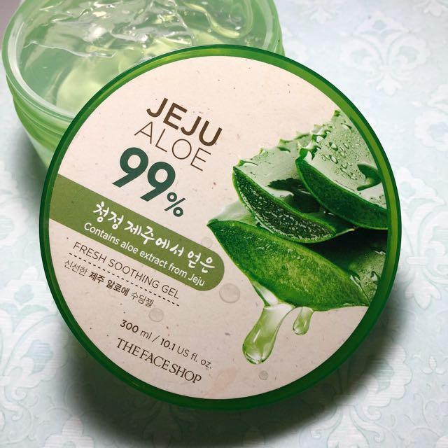 The Face Shop 99% Jeju Aloe Vera Gel