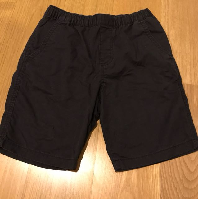 Uniqlo black shorts size XL