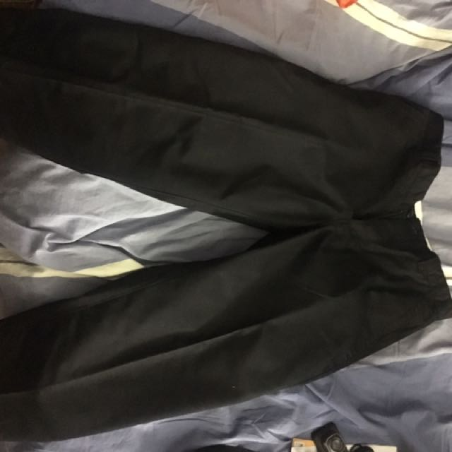 Urban outfitters black work pants