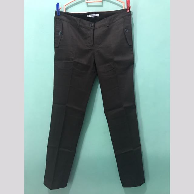 Valino Basic Brown Pants