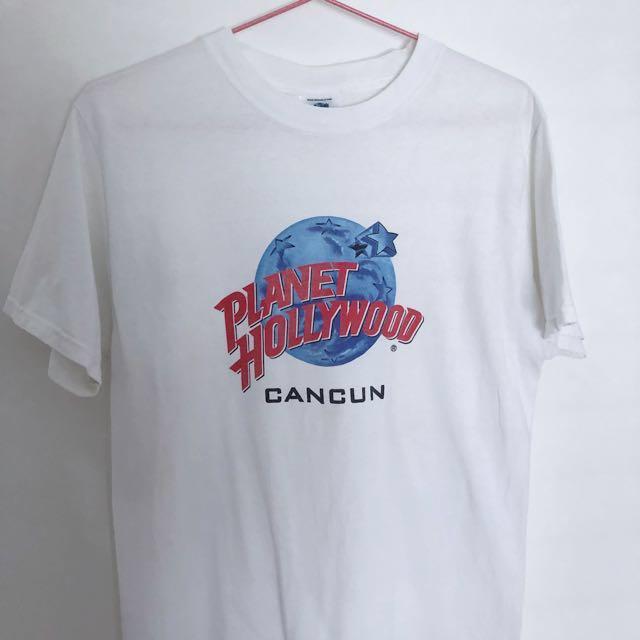 VINTAGE Planet Hollywood Cancun Tshirt
