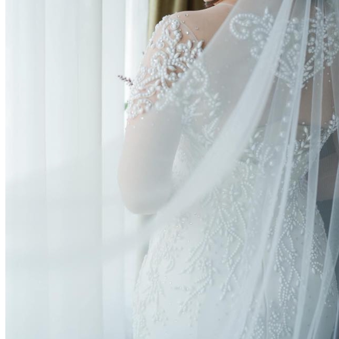 wedding gown, Preloved Women\'s Fashion, Clothes on Carousell