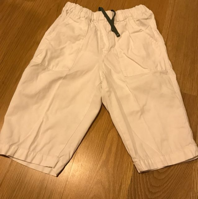 White uniqlo pants size XL