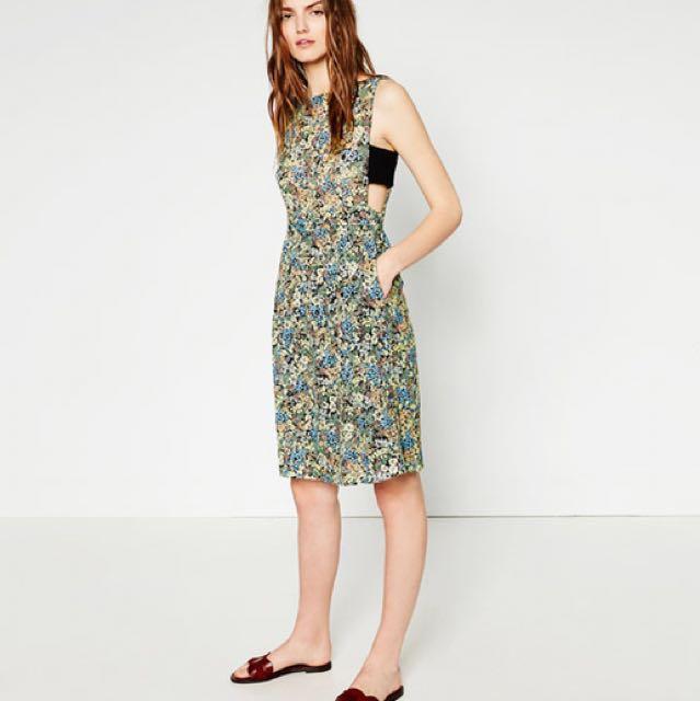 ZARA Laced Dress