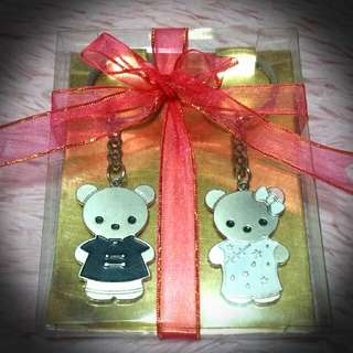 Bear Couple Key Chains