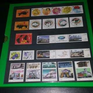 Singapore stamp 2009