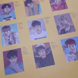 EXO EXACT LUCKY ONE POSTER ONLY
