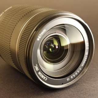 CANON EFS 18-135mm旅遊鏡!免運費