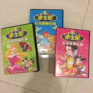 DVD Disney SnowWhite & classic tales