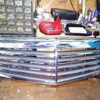 mecedes benz front grill