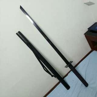 shinobi katana ninja straight sword