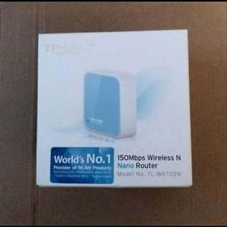 TP LINK 150Mbps wireless N nano router