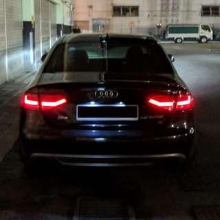 Audi A4 (B8) Tail Light Mod to B8.5