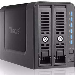 Thecus N2350 2-Bay NAS with Dual Core, 1GB RAM, 2x USB 3.0