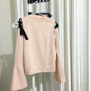 Bershka Pink Cut Out