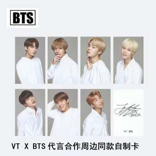 BTS VT UNOFFICIAL PHOTOCARDS